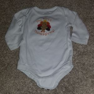 My first thanksgiving 3-6M onesie